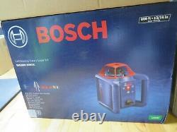 Bosch Grl800-20hvk 800 Pi. Kit De Niveau De Laser Rotatif À Nivellement Automatique (e10012841) Nouveau
