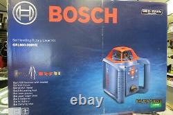 Bosch Grl800-20hvk Auto-nivellement Rotary Laser Kit Nouveau