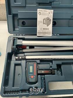 Bosch Grl800-20hvk Kit Laser Rotaire Auto-nivelage