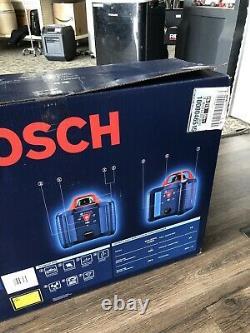 Bosch Grl800-20hvk-rt 800 Ft. Kit De Niveau De Laser Rotatif À Nivellement Automatique