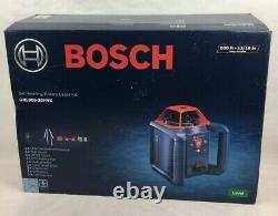 Bosch Grl800-20hvk-rt Kit Laser Rotatif De 800ft Avec Trépied Et Tige De 8ft