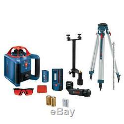 Bosch Grl900-20hvk 1000' Autolissants Horizontale Et Verticale Laser Rotatif Kit