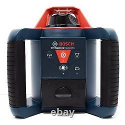 Bosch Grl900-20hvk 1000' Kit Laser Rotatif Horizontal Et Vertical
