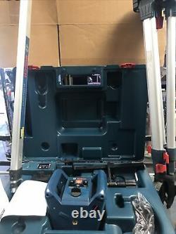 Bosch Grl 240 Hv 800ft Auto Nivellement Rotary Laser Wirh Trépied Et Tige De Grade