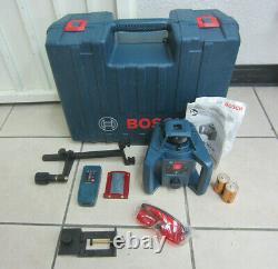 Bosch Grl 240 Hv Auto-nivelage De Niveau De Laser Rotatif Avec Télécommande Lr 24