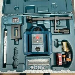 Bosch Grl 240 Hv Auto-nivelage De Niveau Laser Rotary Avec Lr 24 Télécommande Et Trépied