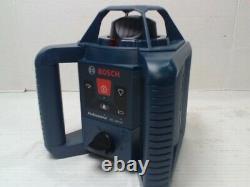 Bosch Professional Grl 240 Hv Rotary Autolissant Laser Withtripod Et Tige De Mise À Niveau