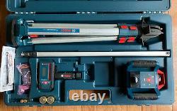 Bosch Professional Self-leveling Rotary Laser System Kit Grl1000-20hv / Grande