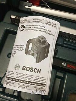 Bosch Professional Self-leveling Rotary Laser System Kit Grl1000-20hv Nouveau