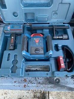 Bosch Revolve900 Grl900-20hvk Auto-nivellement Horizontal / Vertical Rotary Laser Kit