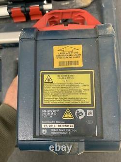 Bosch (grl1000-20hv) Gamme 1000ft, Kit Laser Rotaire Auto-niveau / Système
