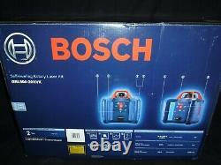 Bosch (grl800-20hvk) Auto-nivellement Rotary Laser Kit Flambant Neuf