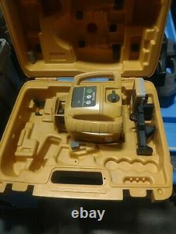 Clearance- Topcon 1021200-31 Rl-h5b Auto Nivellement Horizontal Rotary Laser