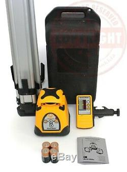 David White 3110-gr Autonivelant Rotatif Niveau Laser Niveau, Topcon, Spectra