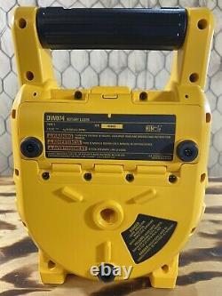 Dewalt Dw074 Intérieur Et Extérieur Auto Nivellement Rotary Laser Avec Acc. Très Propre