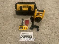 Dewalt Dw074kd 100ft Kit Laser Rotatif Intérieur/extérieur