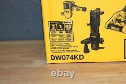 Dewalt Dw074kd 150 Ft. Niveau Laser Rotatif Auto-niveau Avec Détecteur Et Télécommande