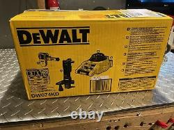 Dewalt Dw074kd Intérieur Extérieur Auto-nivelage Rotary Laser Combo Kit