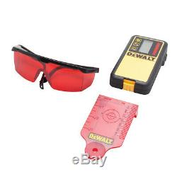Dewalt Dw074lr 20 Volts 1500 Pieds Gamme Sans Fil Autolissants Rouge Laser Rotatif