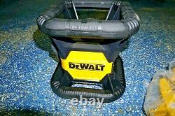 Dewalt Dw074lr 20v 1500 Cordless Self Leveling Red Rotary Laser (g39)