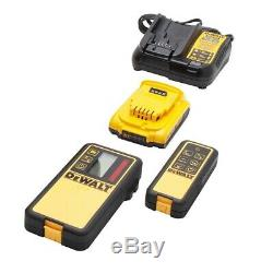 Dewalt Dw079lr 20 Volts 1500 Pieds Gamme Sans Fil Autolissants Rouge Laser Rotatif