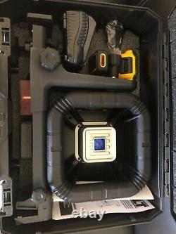 Dewalt Dw079lr Self Leveling 20 Volt Rotary Laser Niveau 200' Gamme Nouveau