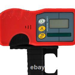 Faisceau Vert De Niveau Laser Rotatif 500m Portée Auto-nivellement 360° Kit D'outils Rotatifs
