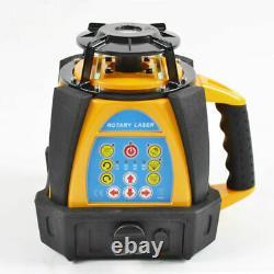 Gamme 500m Rotation Auto-nivellement Laser Rotary Haute Précision Haut Niveau De Quatity