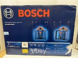 Génial! Bosch Grl800-20hvk-rt 800 Ft. Kit De Niveau De Laser Rotatif À Nivellement Automatique