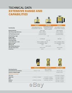 Geomax 6013520 Zone20h Autolissants Laser Rotatif Horizontal Withtripod Et 14' Rod