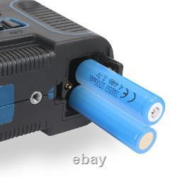 Hanmer Lv3d 360° Rotary 12 Line Level Laser Green Beam Cross Laser Self Leveling