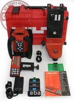 Hilti Pr 26 Green Beam Auto Leveling Rotary Laser Level, Topcon, Spectra, Trimble