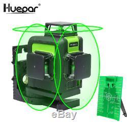 Huepar 903cg Vert Niveau Laser Rotatif Cross Laser Line Autolissant 45m 147ft