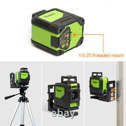 Huepar Niveau Laser Rotatif Vert Cross Line Laser Auto-nivelage Horizon Vertical