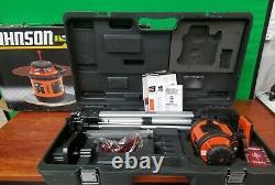 Johnson 40-6517 Système De Niveau De Laser Rotatif Auto-niveau Pas De Mesure