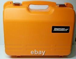 Johnson 40-6543 Autolissants Niveau Laser Rotatif Avec Greenbrite Technology