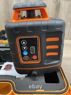 Johnson 40-6543 Kit De Niveau Laser Rotatif Auto-nivellement