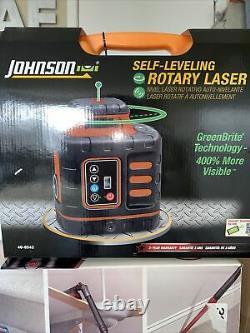 Johnson 40-6543 Kit De Niveau Rotatif Au Laser