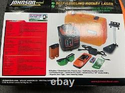 Johnson 40-6543 Kit Laser Rotatif Auto-nivellement Avec La Technologie Greenbrite