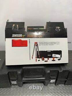 Johnson 99-006k 800 +/- 1/8po Rotary Laser System Auto-nivellement P-11
