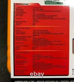 Johnson Auto-nivellement Rotary Laser Avec Greenbrite Tech 40-6543 Flambant Neuf