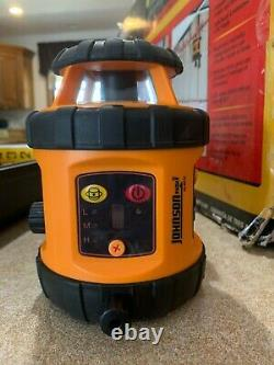Johnson, Kit De Niveau De Laser Rotatif Auto-échelonné 40-6517