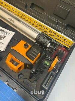 Johnson Level 40-6519 Système Laser Rotatif Auto-nivellement