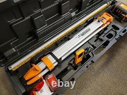 Johnson Level & Tool 99-027k Système Laser Rotaire Auto-niveau Kit Cas Dur