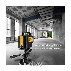 Kaiweets Niveau Laser Rotatif Kt360b, Ligne Laser Verte Auto-niveautée, Hori À 360°