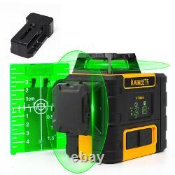 Kaiweets Rotatif Niveau Laser 3x 360 Lignes Laser 4x Versus Niveau Laser Bosch Vert 360