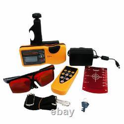 Kit De Niveau Laser Rotary Vert/rouge Auto-nivelant 150 Mètres De Distance Uk Stock