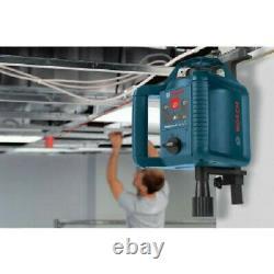 Kit De Niveau Laser Rotatif Auto-niveau Bosch Grl240hvck-rt Certifié Remis À Neuf