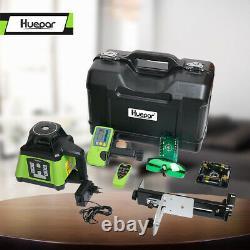Kit De Niveau Laser Rotatif Vert D'auto-niveautage Électronique Niveau Laser + Récepteur