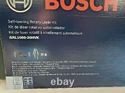Kit Laser Rotatif Auto-nivelage Bosch Grl1000-20hvk